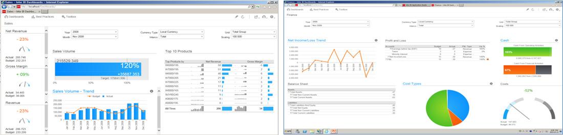 Infor BI - Infor d/EPM Planner Perspective demo